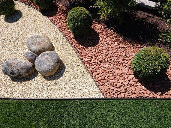Verdeesvida bordes muy bien definidos for Borde plastico para jardin
